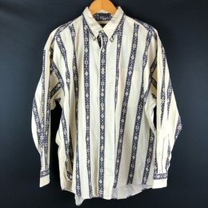 Chaps Ralph Lauren Vintage Striped Shirt